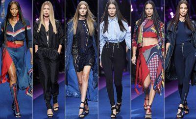 359f5a1d5 MILÃO Fashion Week 2016: VERSACE Primavera/Verão 2017. – Revista Em Visão -  A revista mais querida da Amazônia