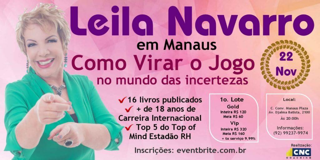 Manaus Terá A Presença Da Poderosa Palestrante Motivacional