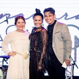 Ju Ferraz veio a Manaus no evento que teve apresentação da Vogue Brasil