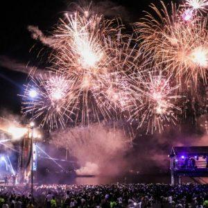 A alegria da Festa de Réveillon que ocorreu em Manaus